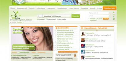 A WEBBeteg az év egészségügyi honlapja