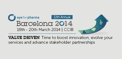 Eyeforpharma konferencia, 2014. március 18-20., Barcelona